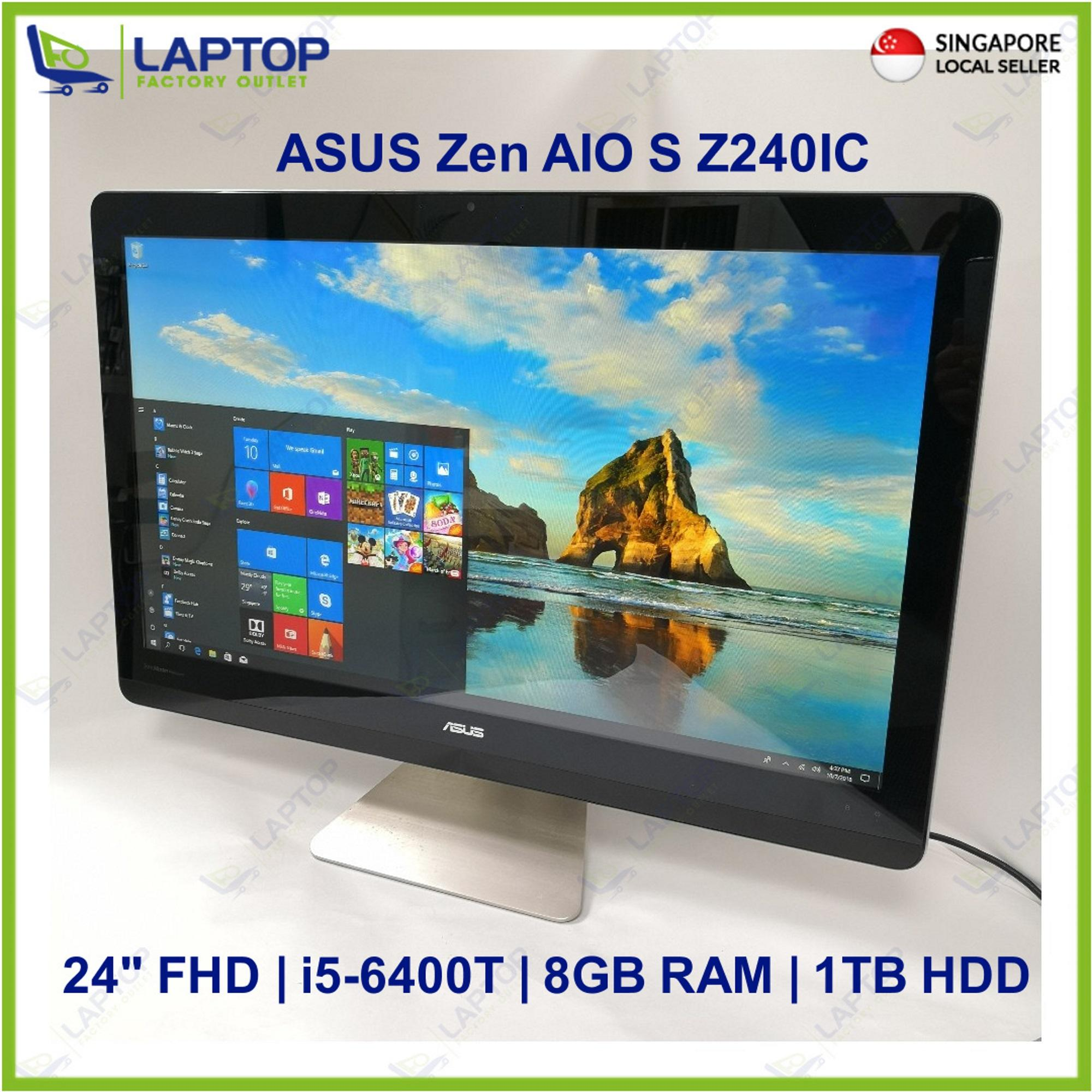 ASUS Zen AIO S Z240IC Touch Screen (i5-6/8GB/1TB) @Gaming@ Preowned [Refurbished]
