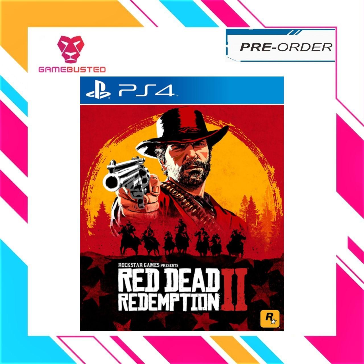 PS4 Red Dead Redemption 2 (R3/ENG) - Stock available now