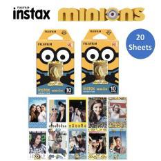 Fujifilm Instax Mini Minion Film x 2 Packs (20 Sheets) Standard Version