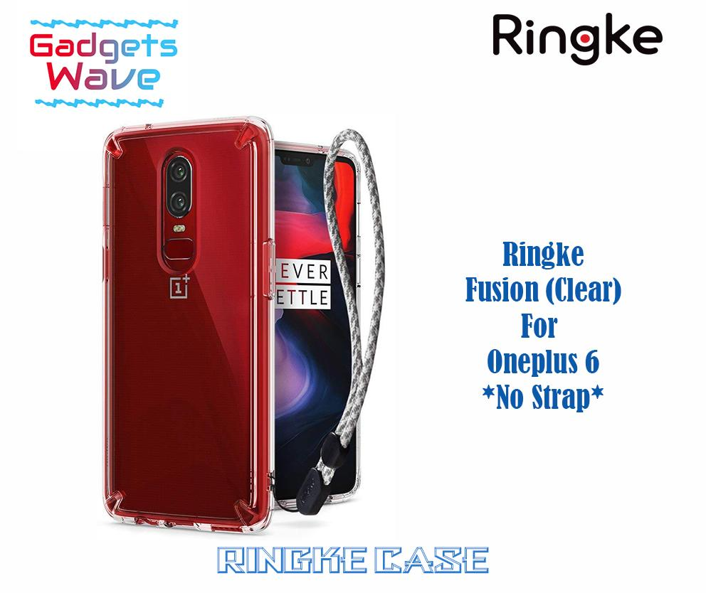 Ringke Fusion Case For Oneplus 6 (Clear)