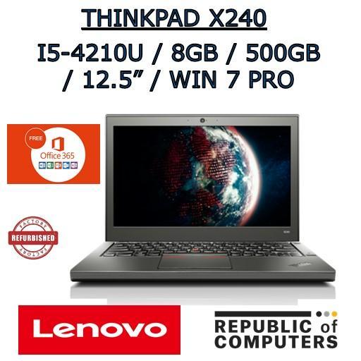 [REFURBISHED] LENOVO THINKPAD X240