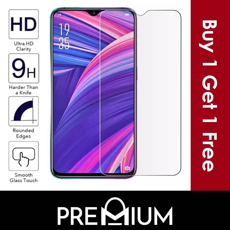 [BUY 1 FREE 1] Tempered Glass Screen Protector Clear For OPPO R17 PRO A3s AX5 R7S A37 A33 F1S A59...