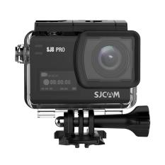 SJCAM SJ8 Pro 4K 60fps Sport Action Camera Ambarella H22 S85 Sony IMX377 Wi-Fi Sports Cam Underwater Camcorder 12MP 30M Waterproof with High-Clarity Digital Zoom 2.33 Dual Touch Screen