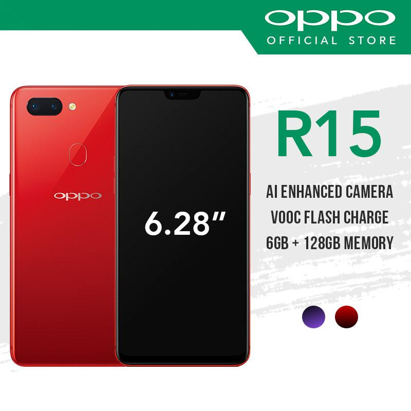 [OPPO Official] OPPO R15 with 2 Years Warranty Free 10000 mAH Powerbank
