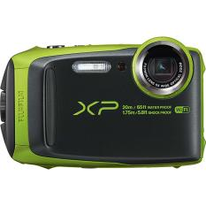 Fujifilm FinePix XP120 Waterproof Digital Camera (Green) Export