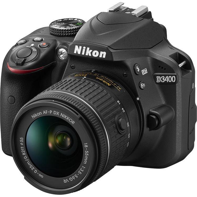 NIKON D3400 KIT (AFS18-55MM) + Nikon Free Gifts