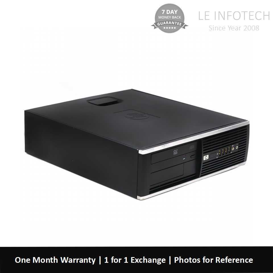 HP Elite 6200 SFF i3-2100 #3.1Ghz 2nd Gen-Quad Core 4GB RAM 250GB HDD Win 10 Pro 30 Days warranty Used