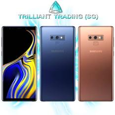 Local SG Sealed Samsung Galaxy Note 9 Super Duper Bundle (DO NOT MISS, LIMITED STOCK.) ***Free Premium Case, Tempered Glass and Bluetooth in-ear Headphones***
