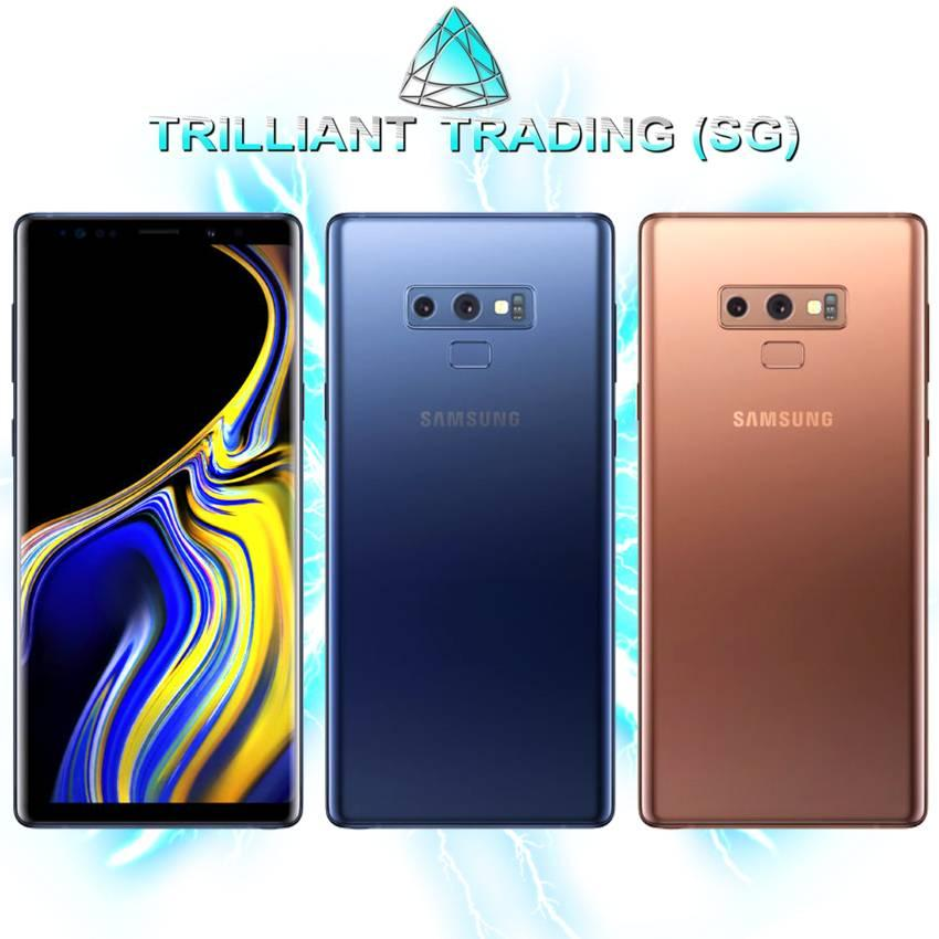 Local SG Sealed Samsung Galaxy Note 9 Super Duper Bundle (DO NOT MISS, LIMITED STOCK.) ***Free Premium Case, Tempered Glass...