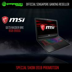 MSI GE73 Raider 8RE RGB-280SG (I7-8750H/16GB/256GB SSD/GTX1060)17.3″ with 120Hz Gaming Laptop *10.10 PROMO*