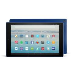 Amazon Fire HD 10 Tablet (Blue) with Alexa Hands-Free, 10.1″ 1080p Full HD Display, 32 GB – with Special Offers