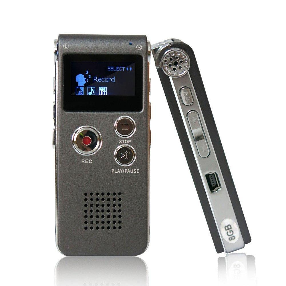 Dn006 Digital Voice Recorder Telephone Audio Recorder Mp3 Player Dictaphone 609 Built-In 8Gb