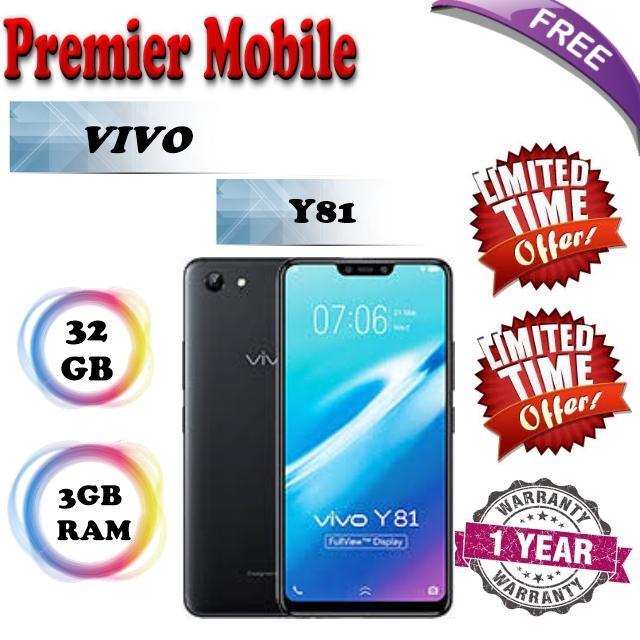 Vivo Y81 32GB + 3GB Ram / 1 Year Warranty