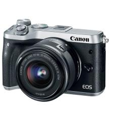 [NEW MODEL] Canon EOS M6 + EF-M 15-45mm IS STM Lens (Silver) Warranty