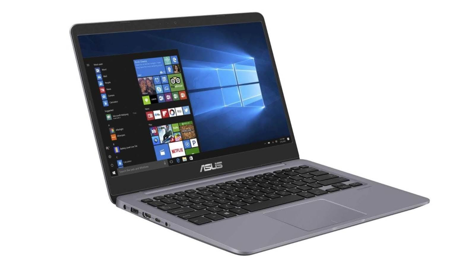 "ASUS X411UF-BV070T i5-8250U Processor 1.6GHz (6M Cache, Up to 3.4GHz) Windows 10 Home (64-bit) NVIDIA® GeForce® GT MX130 with 2GB DDR5 14.0"" LED-backlit Ultra Slim HD 1,366 x 768 Display 8GB DDR4 RAM & 1TB SATA HDD"