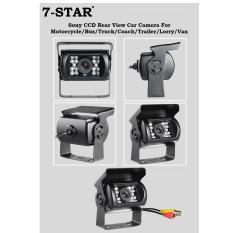 Sony CCD Weatherproof Rear View Car Camera For Vehicle/Bus/Truck/Coach/Trailer/Lorry/Van/Excavator/Crane Reverse Camera