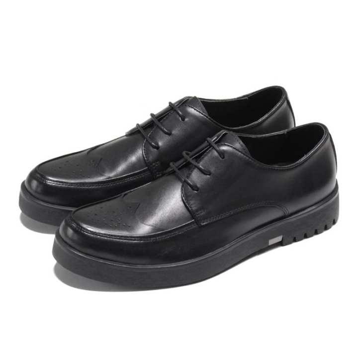 la mode printemps nouveau style baroque cuir chaussures chaussures en en en cuir de varvés c73def