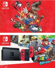 Nintendo Switch Super Mario Odyssey Bundle (Red) – Local Set
