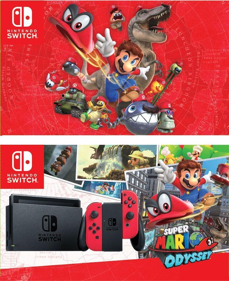 Nintendo Switch Super Mario Odyssey Bundle (Red) – Local Set