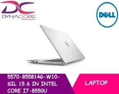 BRAND NEW DELL LAPTOP 5570-855814G-W10-SIL 15.6 IN INTEL CORE I7-8550U 8GB 128GB SSD + 1TB HDD WIN 10