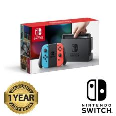 Nintendo Switch Standalone – Neon Red & Blue (12 Month Singapore warranty)