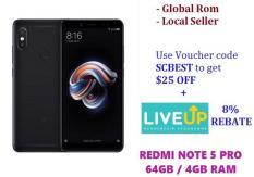 [PROMOTION] Xiaomi Redmi Note 5 Pro 32GB/64GB /4GB RAM