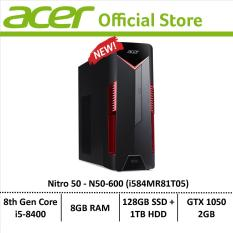 Acer Nitro 50 N50-600 (i584MR81T05) Gaming Desktop