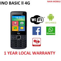 INO Basic II 4G (1 YEAR LOCAL WARRANTY)