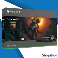 Xbox One X 1TB Shadow of the Tomb Raider Bundle