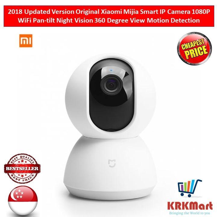 2018 Updated Version Original Xiaomi Mijia Smart IP Camera 1080P WiFi Pan-tilt Night Vision 360 Degree View Motion Detection