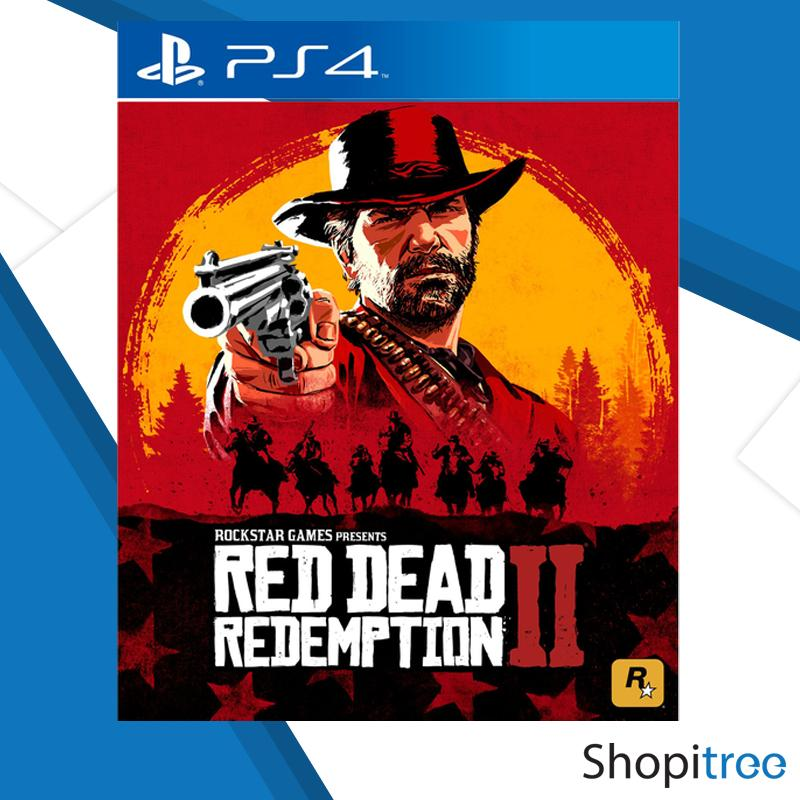 PS4 Red Dead Redemption 2 [Pre-Order - Shipped by 27 October 2018]