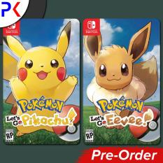 Nintendo Switch Pokemon Lets Go Pikachu / Eevee & Pokeball Plus [READY STOCK IN MAIN STORE]