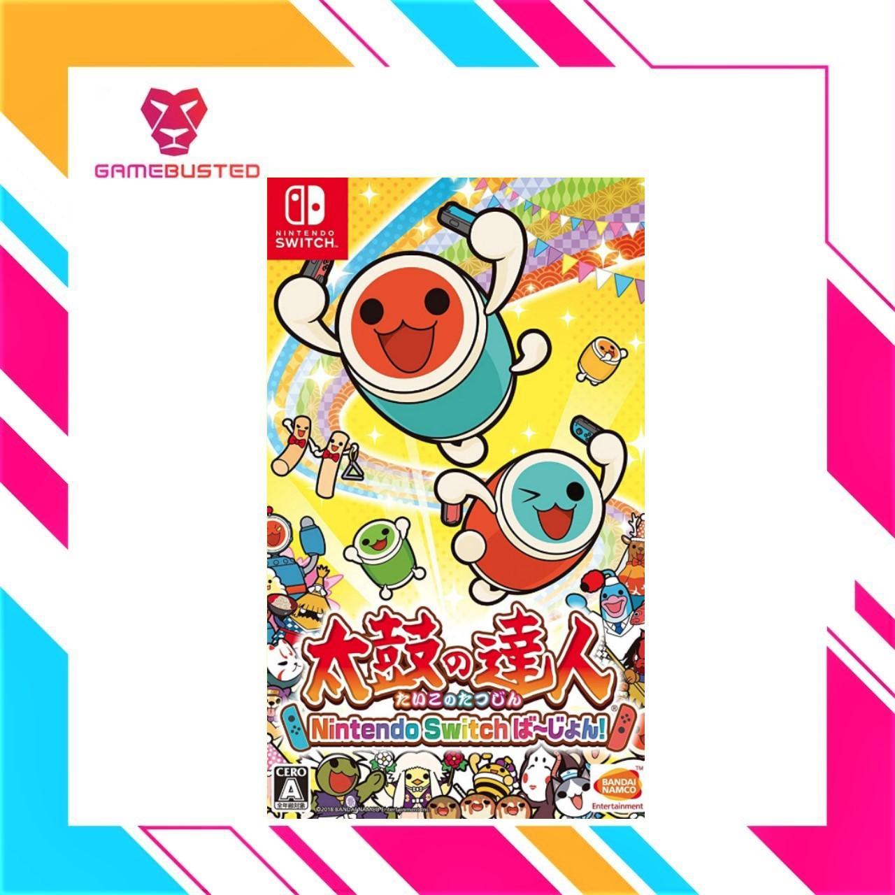 Nintendo Switch Taiko No Tatsujin Drum Session (A)