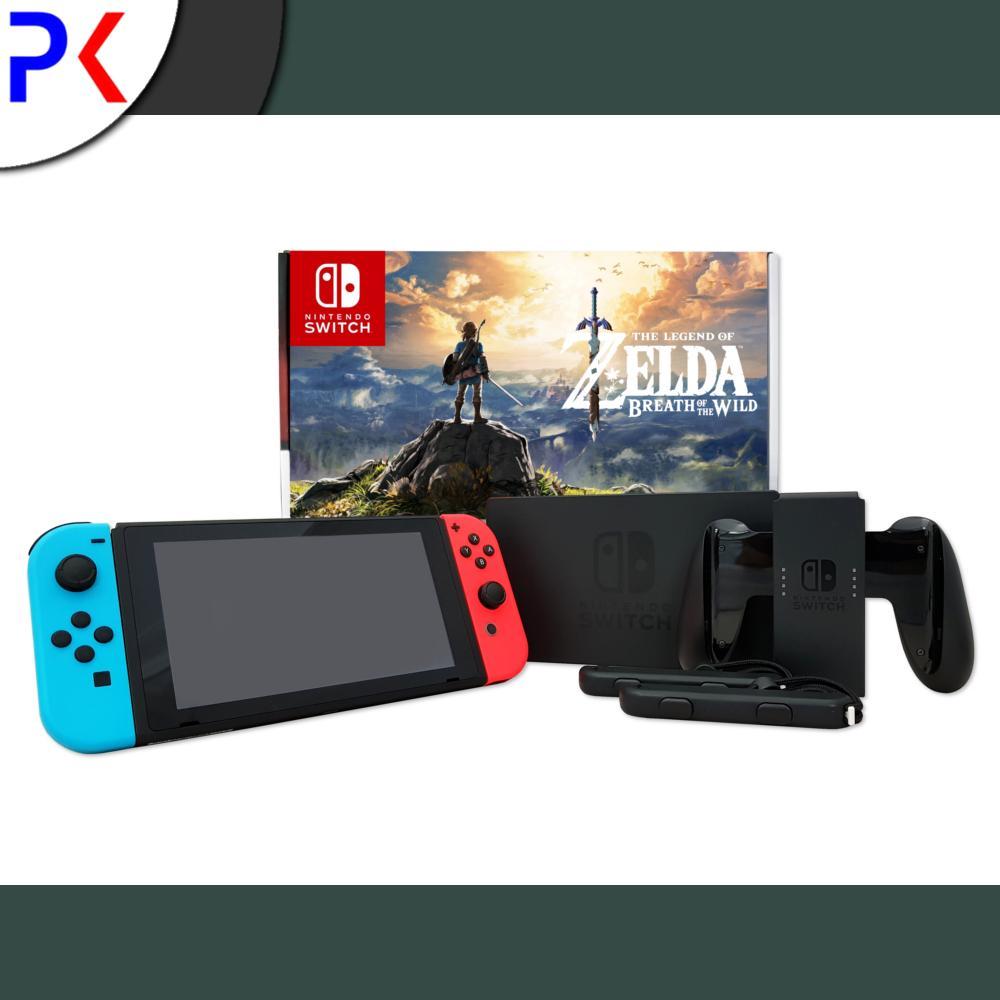 Nintendo Switch Console The Legend of Zelda Bundle (ASIA)