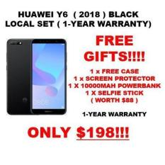 HUAWEI Y6 2018 ( LOCAL SET WITH 1 YEAR WARRANTY ) + FREE GIFTS WORTH $88