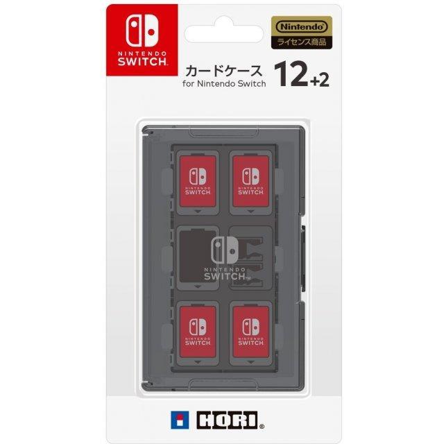 NSW-021 Hori Nintendo Switch Card Case 12+2 Black-JP