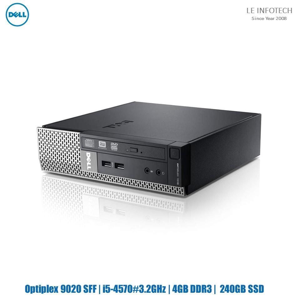 Dell Optiplex 9020 SFF Quad Core i5-4570#3.2GHz 16GB DDR3 240GB SSD Win 10 Pro Used Warranty
