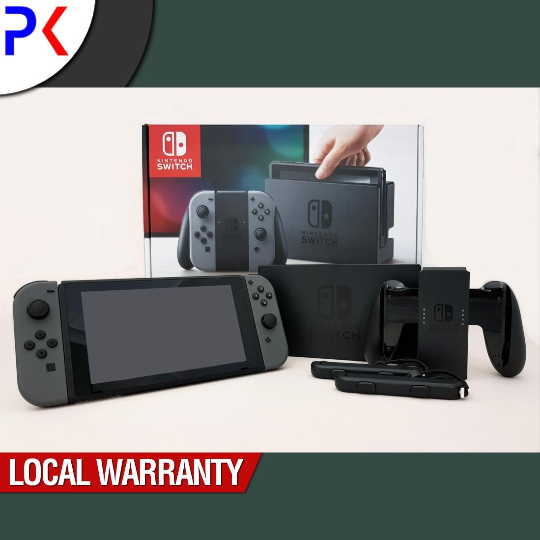 Nintendo Switch Console with Grey Joy-Con (ASIA)