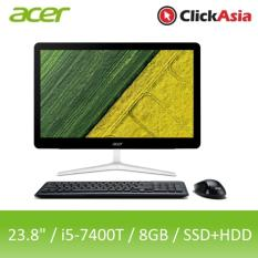 Acer Aspire Z24-880 (i740MR81T94) – 23.8″ Multi-Touch/i5-7400T/8GB DDR4/128GB SSD+1TB HDD/Nvidia GT940M/DVDRW/Win10