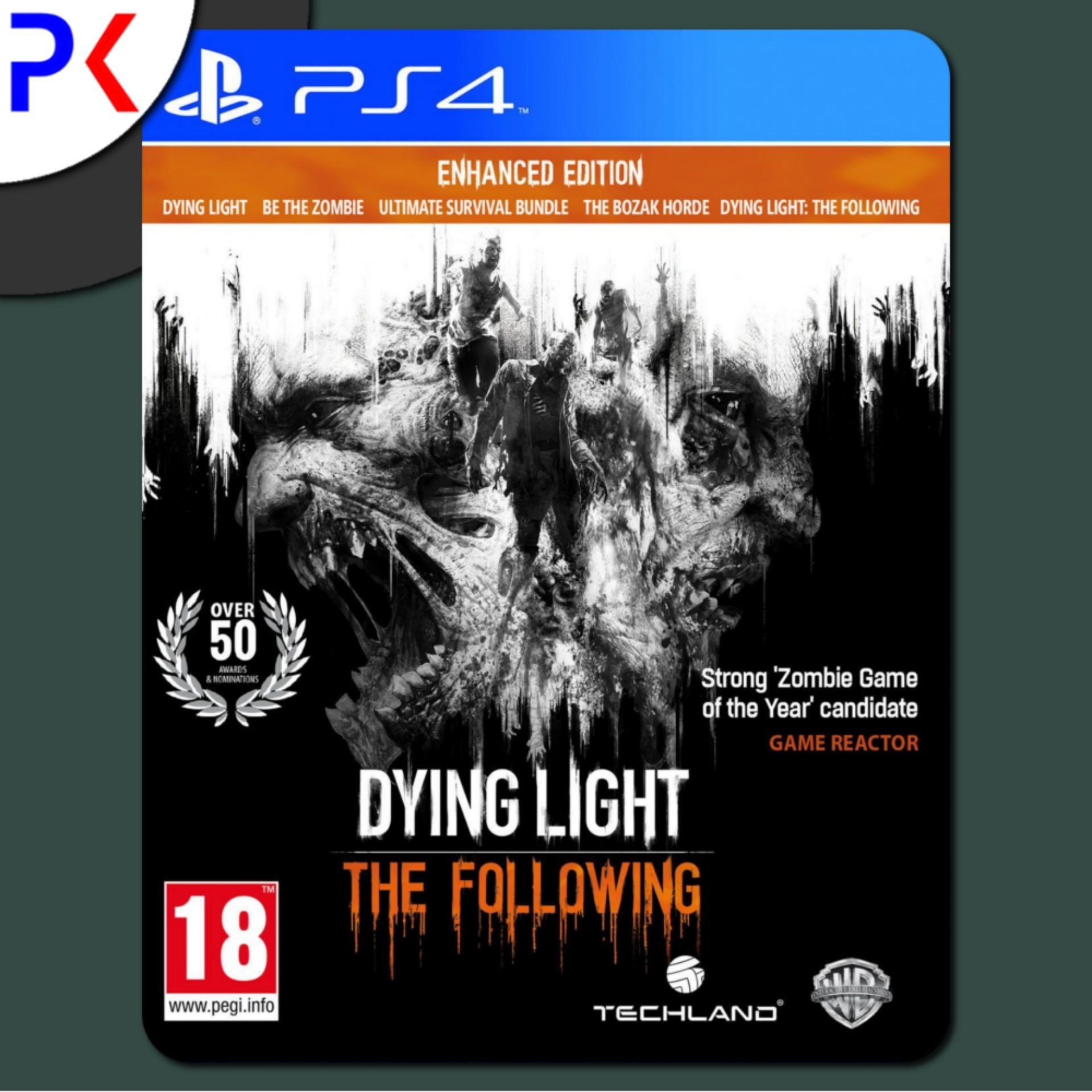 PS4 Dying Light: The Following – Enhanced Edition (R2)