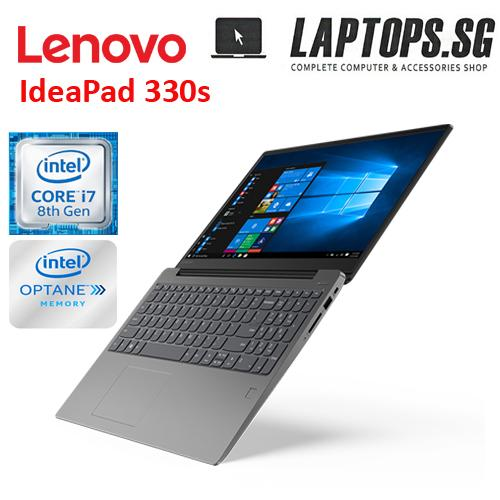 New Lenovo IdeaPad 330s intelcore i7 8th Gen 8550u /20GB memory(4GB DDR4 ram + 16GB intel optane memory) / 1TB HDD / AMD 4GB Graphics /15.6 inch FHD screen /win10 H /2YRS warty