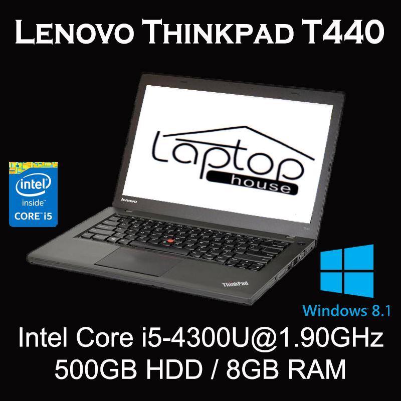 [REFURBISHED] Lenovo Thinkpad T440 (Intel Core i5-4300/ 8GB RAM / 500GB HDD)