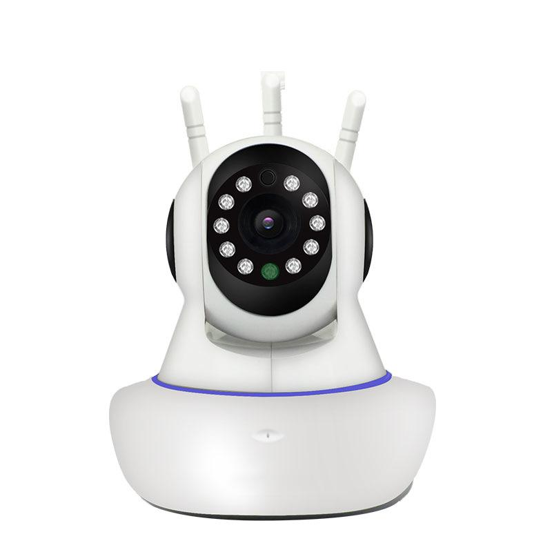 Norzy 1280HD Wireless Surveillance Camera Security CCTV Camera with Infra Red Night Vision 365 Degree Rotation