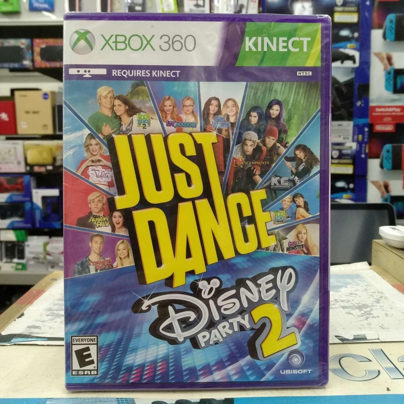Xbox 360 Just Dance Disney Party 2