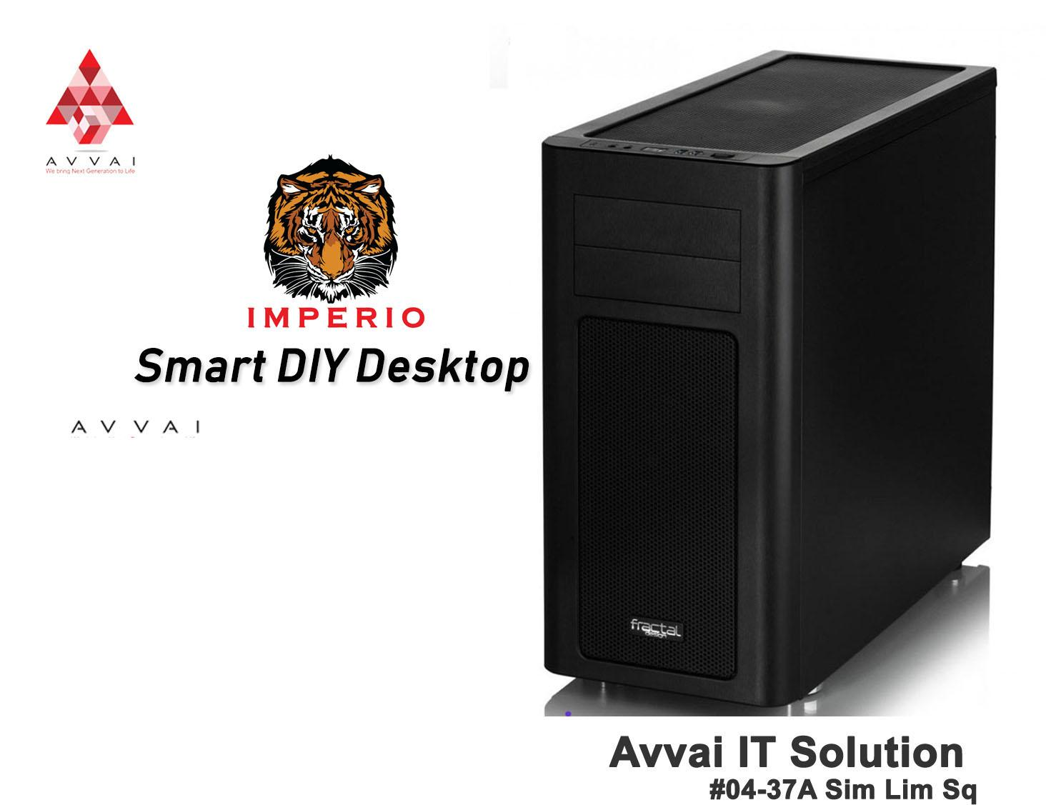 Smart Desktop Intel/ Asus H310M-A Motherboard