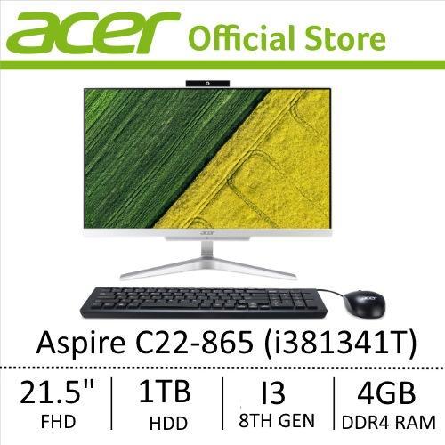 Acer Aspire C22-865 (i381341T) All-In-One Desktop (NEW MODEL)