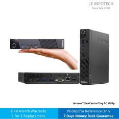 Lenovo ThinkCentre M92p Tiny desktop Core i5-3470T @2.9Ghz 4GB RAM 250GB SSD Win 10 Pro One Month Warranty Used