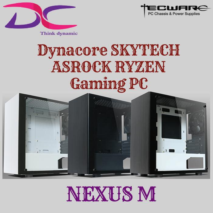 Dynacore SKYTECH ASROCK RYZEN Gaming Desktop with Windows10 Home
