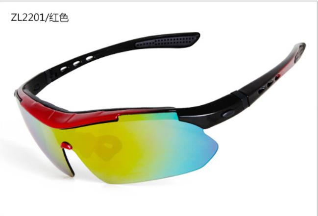 Polarized Cycling Glasses Bike Outdoor Sports Bicycle Sunglasses For Men Women Goggles Eyewear 5 Lens Cycling Glasses MTB