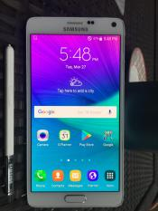 Samsung Galaxy Note 4 32G White,4G LTE,Unlocked, Export set,Refurbish